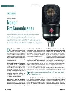 Soundcheck Neumann TLM 107