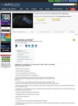 Audiofanzine.com RMI Basswitch Sonic Spark