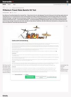 Bonedo.de Millenium Travel Mate Bundle Kit