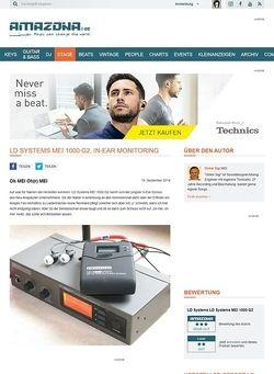 Amazona.de LD Systems MEI 1000 G2, In-Ear Monitoring
