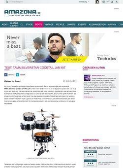 Amazona.de Test: Tama Silverstar Cocktail Jam Kit