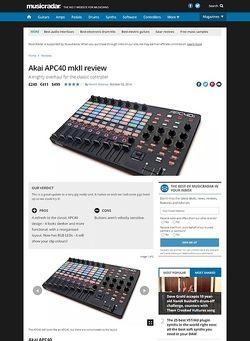 MusicRadar.com Akai APC40 mkII