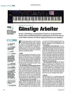 Tastenwelt Roland FA-06 und FA-08