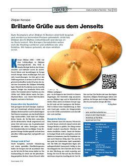 Drumheads Zildjian Kerope