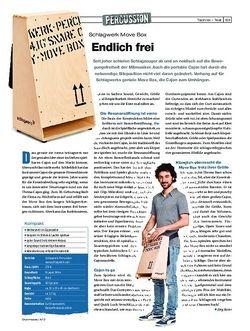 Drumheads Schlagwerk Move Box