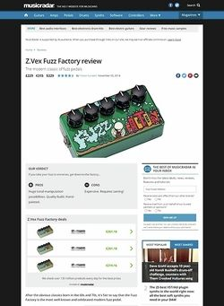 MusicRadar.com Z.Vex Fuzz Factory