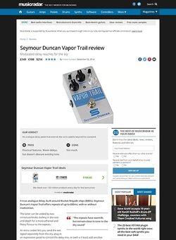 MusicRadar.com Seymour Duncan Vapor Trail