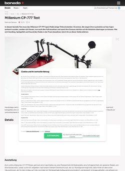 Bonedo.de Millenium CP-777