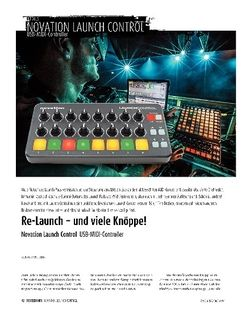 Sound & Recording Novation Launch Control - USB-MIDI-Controller