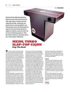 Sticks Meinl Turbo Slap-Top Cajon