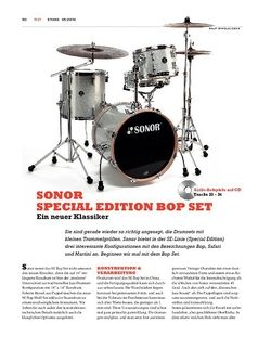 Sticks Sonor Special Edition Bop Set
