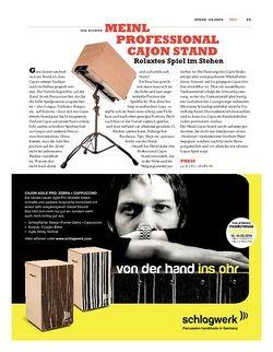 Sticks Meinl Professional Cajon Stand