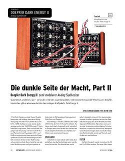 Keyboards Doepfer Dark Energy II - Semi-modularer Analog-Synthesizer