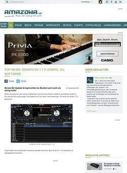 Amazona.de Top News: Serato DJ 1.7.2 Update, DJ-Software