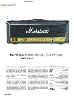 Guitar Gear Amp - Marshall JCM 800 Lead Series