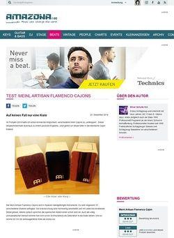 Amazona.de Test: Meinl Artisan Flamenco Cajons