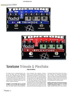 Guitar Gear Effekte - Tonebone Trimode & Plexitube