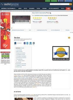 Audiofanzine.com Dave Smith Instruments Pro 2