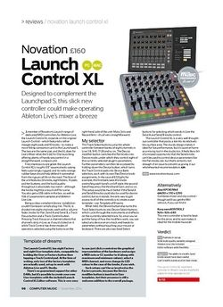 Computer Music Novation Launch Control XL
