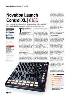 Future Music Novation Launch Control XL