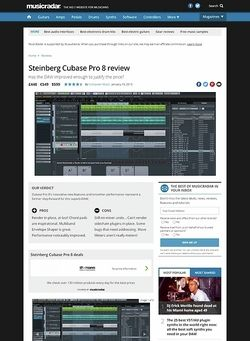 MusicRadar.com Steinberg Cubase Pro 8