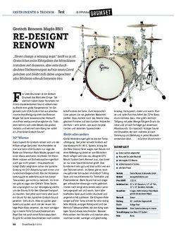 Drumheads Gretsch Renown Maple RN1