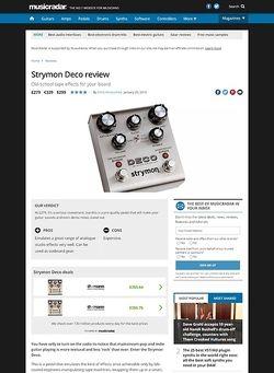 MusicRadar.com Strymon Deco