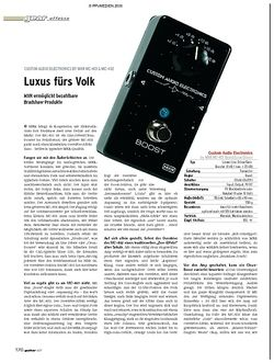 Guitar Gear-Effekte - Custom Audio Electronics By MXR MC-401 & MC 402