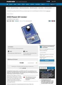 MusicRadar.com DOD Phasor 201