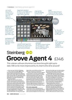 Computer Music Steinberg Groove Agent 4