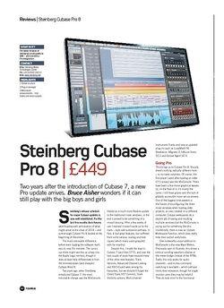 Future Music Steinberg Cubase Pro 8