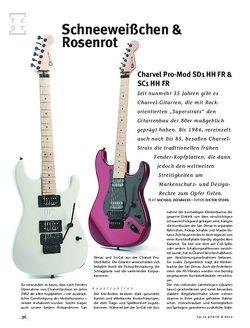 Gitarre & Bass Charvel Pro-Mod SD1 HH FR & SC1 HH FR, E-Gitarren
