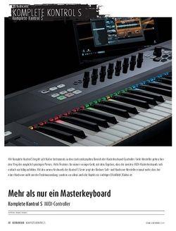 Sound & Recording Komplete Kontrol S - MIDI-Controller