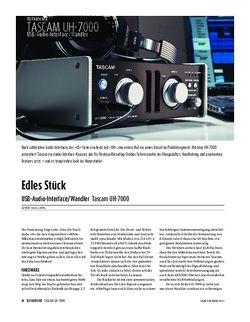 Sound & Recording Tascam UH-7000 - USB-Audio-Interface/Wandler