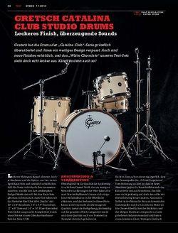 Sticks Gretsch Catalina Club Studio Drums