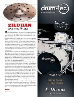 "Sticks Zildjian A Custom 10"" EFX"