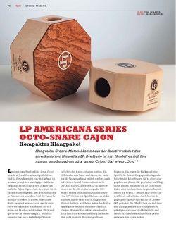 Sticks LP Americana Series Octo-Snare Cajon