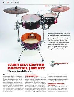 Sticks Tama Silverstar Cocktail Jam Kit