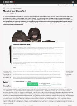 Bonedo.de Ahead Armor Cases