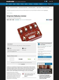 MusicRadar.com Empress Nebulus