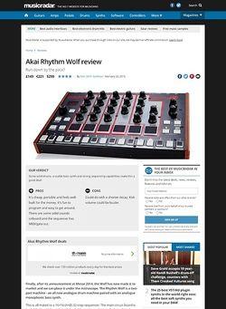 MusicRadar.com Akai Rhythm Wolf