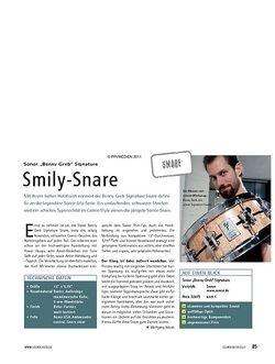 Soundcheck Sonor Benny Greb Signature Snare