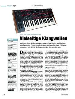 Tastenwelt Dave Smith Instruments Pro 2