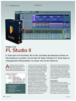 KEYS FL Studio 11