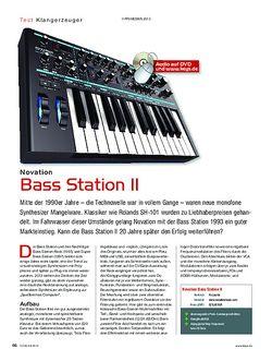 KEYS Novation Bass Station II
