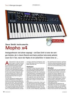KEYS Dave Smith Instruments Mopho x4