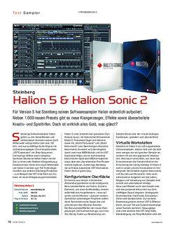 KEYS Steinberg Halion 5 & Halion Sonic 2