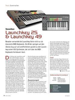 KEYS Novation Launchkey 25 & Launchkey 49