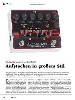 Guitar Electro-Harmonix Deluxe Big Muff Pi