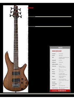 Guitar Ibanez SRC6-WNF